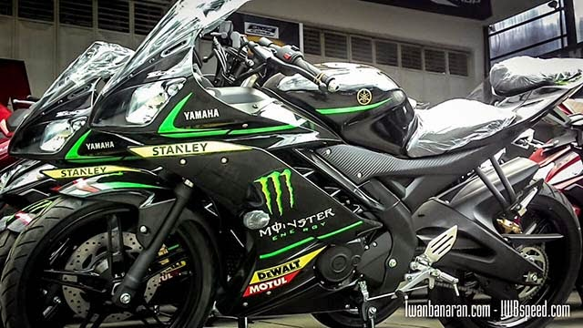 Yamaha R15 Livery Moto GP Monster Tech 3