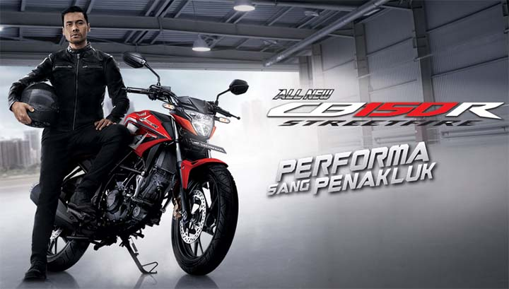 All New Honda CB150R StreetFire