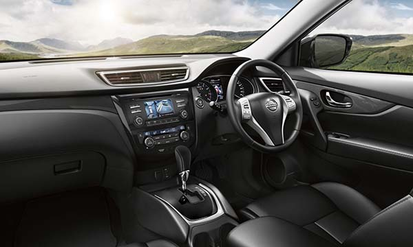 Nissan X-Trail design Interior