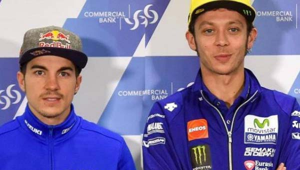 Vinales fans Valentino Rossi