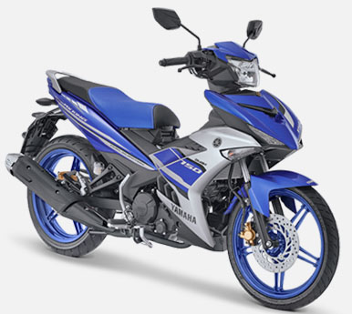 Pilihan Warna Jupiter MX King 150 warna Biru