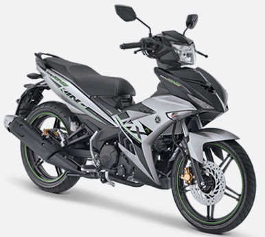 Pilihan Warna Jupiter MX King 150 warna Speedy Silver