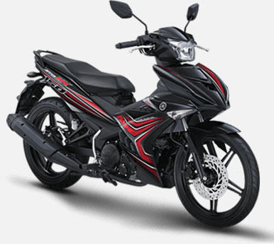 Pilihan Warna Jupiter MX 150 warna Black Sniper