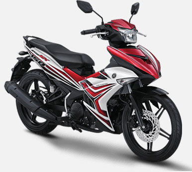 Pilihan Warna Jupiter MX 150 warna Red Corner