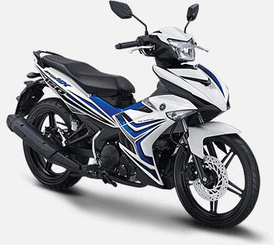 Pilihan Warna Jupiter MX 150 warna White Superior