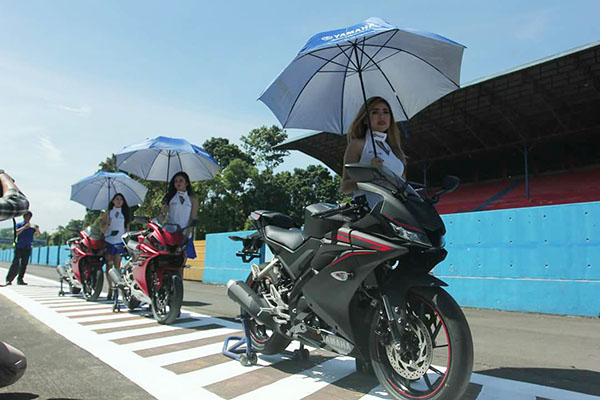 All New Tamaha R15 di Sentul