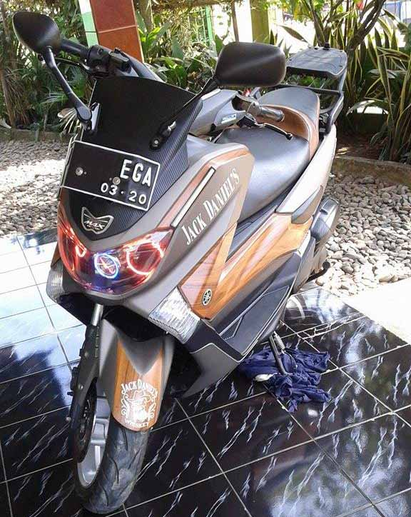 modifikasi yamaha nmax klasik  max jack blogotive