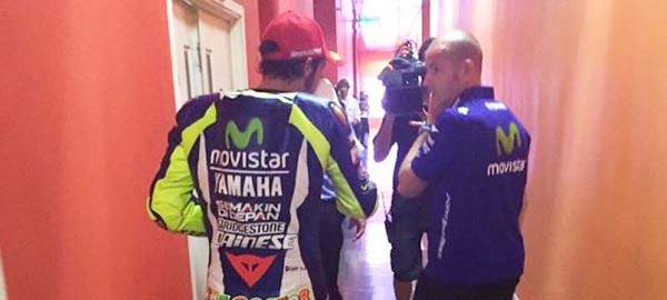 Valentino Rossi dapat 3 Pinalty Point
