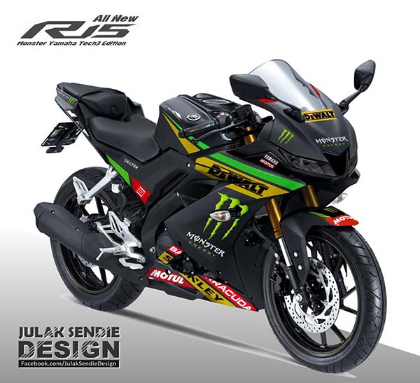 All New R15 Livery Monster Tech3
