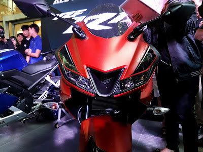 All new R15 2017 matte red