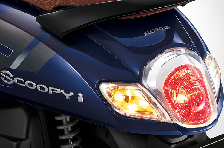 All New Scoopy 2017 Thailand tail lamp