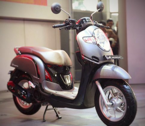 All New Scoopy 2017 tipe Stylish