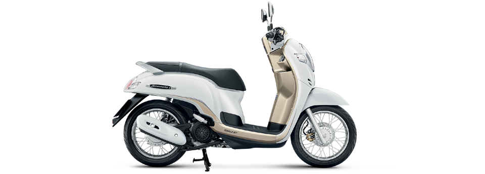 Warna All New Scoopy I 2017 Thailand ring-12 putih
