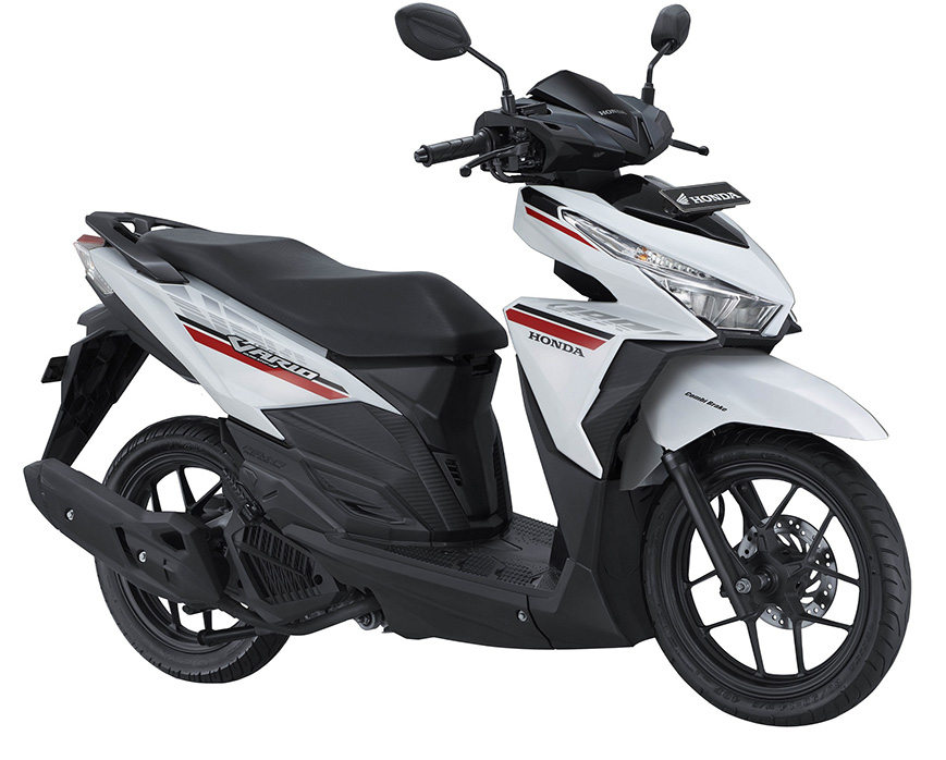Honda Vario 125 2017 Sonic White Red