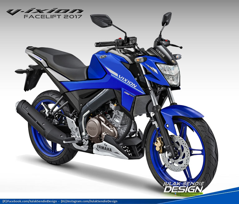 Render All New Vixion 155
