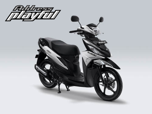 Pilihan Warna Suzuki Address Playful warna Brilliant White