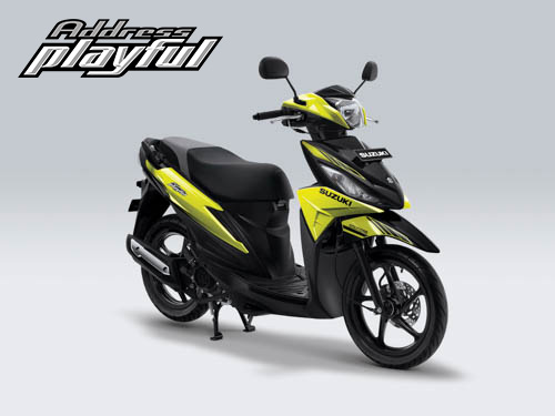 Pilihan Warna Suzuki Address Playful warna Fresh Green