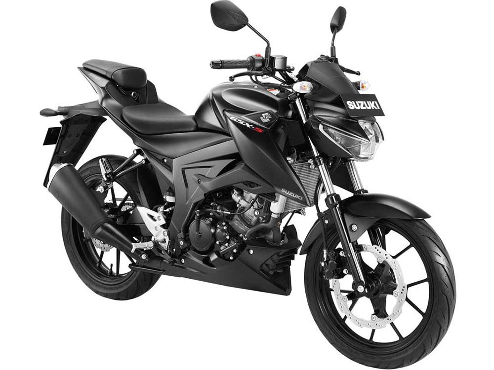 Warna GSX-S150 Shuttered Key Hitam