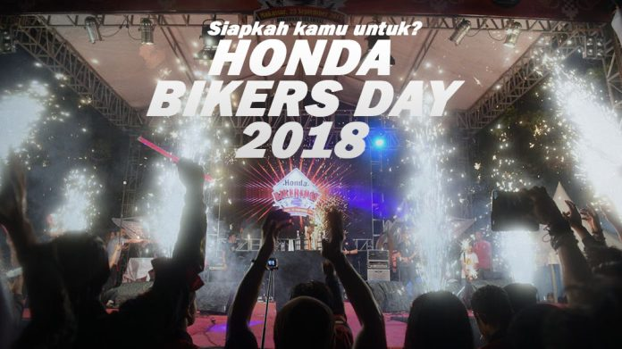 Honda Bikers Day 2018, Siap?