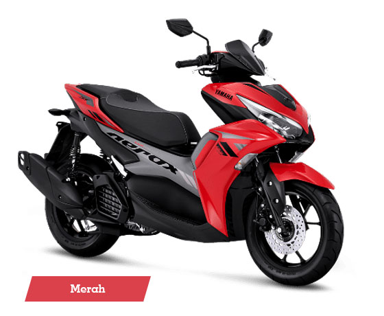 Warna Aerox 155 Connected STD Red